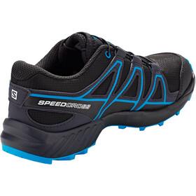 Salomon Speedcross Chaussures running Enfant, black/graphite/hawaiian surf